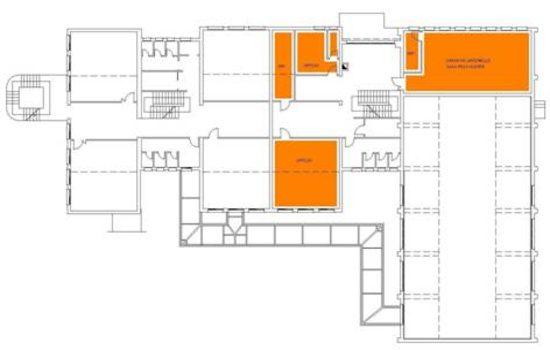Mappa - Piano Primo Villa Medico