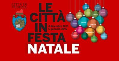 Logo Le citta' in festa Natale 2015