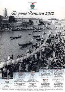Manifesto Stagione Remiera 2012