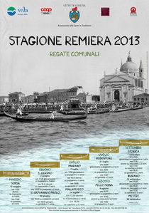 Manifesto Stagione Remiera 2013
