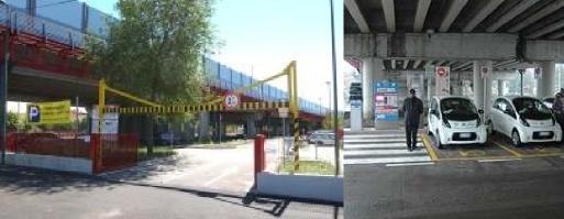 foto di parcheggio scambiatore Castellana