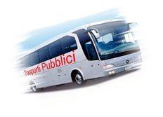 Immagini autobus adibito a trasporto pubblico commerciale di linea