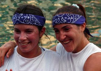 2003 Romina Ardit e Anna Mao, prime nella gara delle Donne