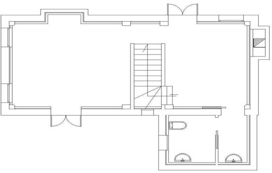 Mappa Dependance Villa Pozzi - Piano Terra