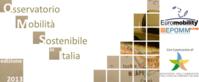 Immagine copertina presentazione di sinteri del rapporto sulla mobilità sostenibile in Italia sulle principali 50 citta in Italia Ed. 2013
