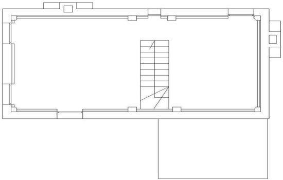 Mappa Dependance Villa Pozzi - Piano Primo