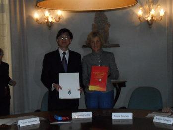 Laura Fincato e Zhengdong Gong