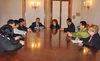 08.04.2013 - L'Ass.re Roberto Panciera riceve delegazione Coreana della città di Chungcheongbuk-do