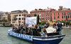 28.05.2010 - Protesta dei musicisti della Fenice contro i tagli agli enti lirici