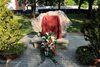 20.04.2011 - Riposizionata la targa al monumento alle vittime delle foibe