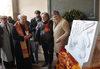 30.11.2015 - Giovanni Giusto presenta il Leone di Venezia in marmo da  donare a Varsavia