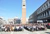 15.04.2016 - Festa delle Lauree di Ca' Foscari in Piazza San Marco