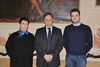 11.03.2016 - Il Vice Sindaco Luciana Colle con l'Assessore Simone Venturini ricevono il Sottosegretario della Difesa Domenico Rossi