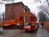 05.02.2015 -  Demolizione palazzina in via Murialdo a Marghera