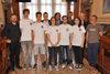 25.05.2016 - Gli Assessori Paolo Romor e Simone Venturini ricevono gli studenti del Liceo Benedetti premiati alla Nasa's great moonbuggy race