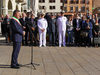 29.09.2015 - Alzabandiera in Piazza Ferretto per la Festa di San Michele Patrono di Mestre