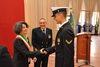 19.10.2013 - L'assessore Tiziana Agostini all'inaugurazione del nuovo anno scolastico al collegio navale militare Morosini