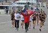 03.06.2014 - Arrivo maratoneta malese Suwaibah Mohd Nasir a Venezia