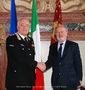 25.01.2011 - Sindaco Orsoni riceve il Com.te Interegionale dei Carabinieri Massimo Iadanza