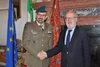 16.12.2013 - Giorgio Orsoni riceve il comandante dei Lagunari Col. Massimiliano Carella