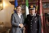 23.06.2015 - Il Sindaco Luigi Brugnaro riceve il Comandante interregionale dei Carabinieri Carmine Adinolfi
