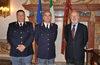 04.05.2010 - Il Sindaco Giorgio Orsoni incontra il Comandante Michele La Fortezza e il vice Questore Polizia Stradale Rocco Sardone