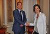 09.07.2013 - L'Ass.re Carla Rey riceve l'Ambasciatore della Repubblica Ceca Petr Burianek