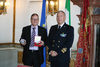 14.01.2015 - Vittorio Zappalorto riceve l'Ammiraglio Salvatore Ruzittu