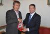 17.07.2015 - Il Sindaco Luigi Brugnaro riceve il Segretario Generale del Turismo Unwto Taleb Rifai