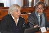 28.09.2015 - L'Assessore Paola Mar alla conferenza stampa sull'Annuario del turismo