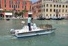 15.07.2015 - Il Sindaco Luigi Brugnaro alla presentazione del servizio pulizia canali Veritas - Alilaguna