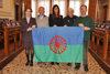 27.01.2016 - Il Presidente del Consiglio Comunale Ermelinda Damiano con l'Assessore Paola Mar ricevono delegati della comunità Rom