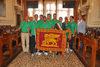 28.05.2012 - L' Ass.re Roberto Panciera consegna il Gonfalone di Venezia all'equipaggio del Palio delle Repubbliche