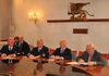 20.05.2013 - Firma accordo emissioni navi