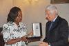 30.05.2012 - L'Ass.re Ugo Bergamo incontra l'Ambasciatrice del Mozambico Carla Elisa Luis Mucavi