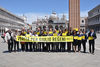 12.05.2016 - Flash Mob in Piazza San Marco per Giulio Regeni