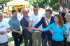 07.06.2016 - Il Sindaco Luigi Brugnaro all'inaugurazione del mercato contadino nei giardinetti di via Piave