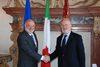 13.01.2012 - Il sindaco di Venezia, Giorgio Orsoni,  incontrato il nuovo prefetto di Venezia, Domenico Cuttaia.