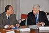 27.10.2011 - L' ass.re  Ugo Bergamo incontra delegazione cinese