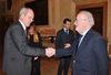 10.02.2014 - Giorgio Orsoni riceve Peter Dettmar Console generale di Germania