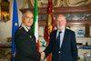 10.09.2012 - Il sindaco incontra Comandante Provinciale Carabinieri di Venezia, Col. Giovanni Cataldo