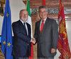 28.08.2010 - Giorgio Orsoni riceve Heinz Fischer  Presidente della Repubblica Austriaca