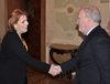 01.03.2011 - Giorgio Orsoni riceve Ministra della cultura armena Hasmik Poghosyan