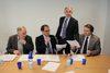 31.01.2011 - Firma Protocollo Intesa dell'Ass.re Micelli con l'Ordine Professionale per Informatizzazione Autorizzazioni Edilizie