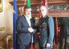 15.09.2015 - Il Sindaco Luigi Brugnaro riceve il Generale Bruno Buratti