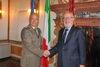 21.10.2013 - Giorgio Orsoni riceve il Comandante delle forze operative di Difesa Generale Bruno Stano