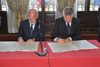 18.05.2012 - Siglato a Ca' Farsetti l'accordo di gemellaggio tra Venezia e Dubrovnik