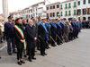 04.11.2015 - Alzabandiera in Piazza Ferretto per la Festa dell'Unità Nazionale e delle FFAA