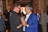 17.06.2015 - Il Sindaco Luigi Brugnaro riceve la squadra maschile della  Reyer
