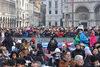 10.02.2013 - Volo dell'Aquila in piazza San Marco